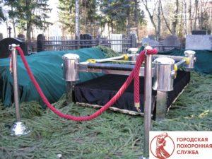 Предоставление cингуматора (ритуального лифта) на элитные похороны