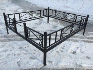 Ограда на могилу 1
