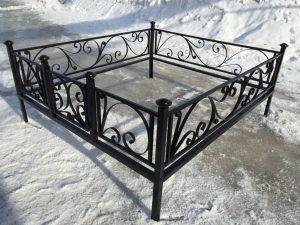 Ограда на могилу 9