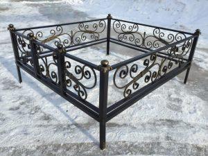 Ограда на могилу 19