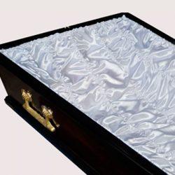 Фото 4 - Постель-гофре для обивки гроба атлас ПС-004/1.