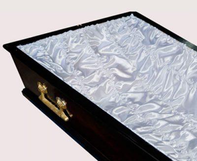 Фото 1 - Постель-гофре для обивки гроба атлас ПС-004/1.