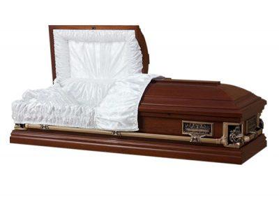 Фото 1 - Элитный гроб Pieta Madonna.