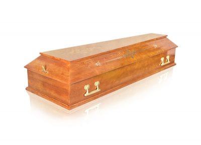 Фото 1 - Гроб деревянный ФПУ-4 Питер.