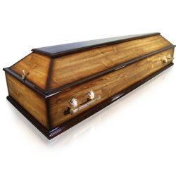 Фото 15 - Гроб деревянный ФЭ-4-Эконом.