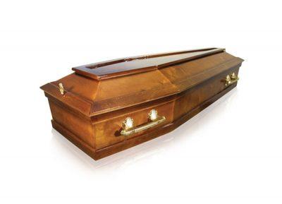Фото 1 - Гроб деревянный ФЭ-6-Эконом.