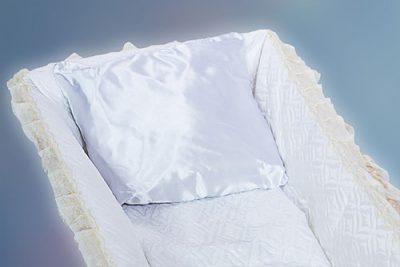 Фото 1 - Ритуальная подушка в гроб ПВГ-3.