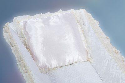 Фото 1 - Ритуальная подушка в гроб ПВГ-4.