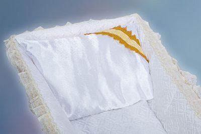 Фото 1 - Ритуальная подушка в гроб ПВГ-5.