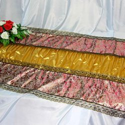 Фото 7 - Похоронное покрывало комбинированное Парча ПК-03-3.