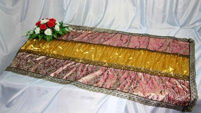 Фото 1 - Похоронное покрывало комбинированное Парча ПК-03-3.