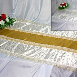 Фото 9 - Похоронное покрывало комбинированное Нежность ПК-03-2.