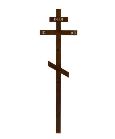Фото 1 - Крест деревянный КДС-01 (Сосна темный).