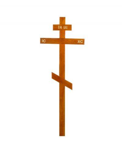 Фото 1 - Крест деревянный КДД-03 (дуб).
