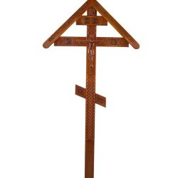 Фото 10 - Крест деревянный КДЭ-03К.