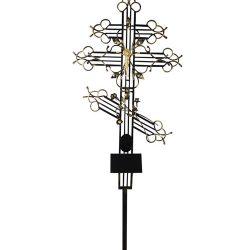 Фото 15 - Крест металлический (эксклюзив).