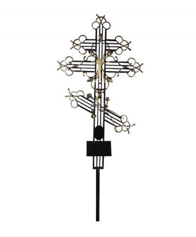 Фото 1 - Крест металлический (эксклюзив).