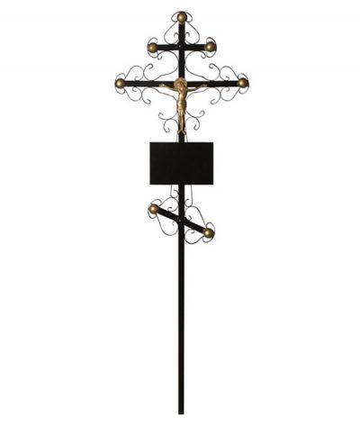 Фото 1 - Крест металлический (вензеля).
