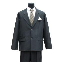 Фото 2 - Мужская одежда для похорон Серый Комплект №1.