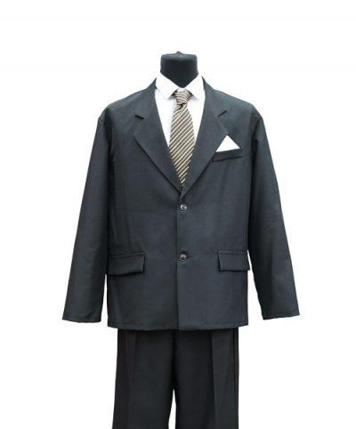 Фото 1 - Мужская одежда для похорон Серый Комплект №1.