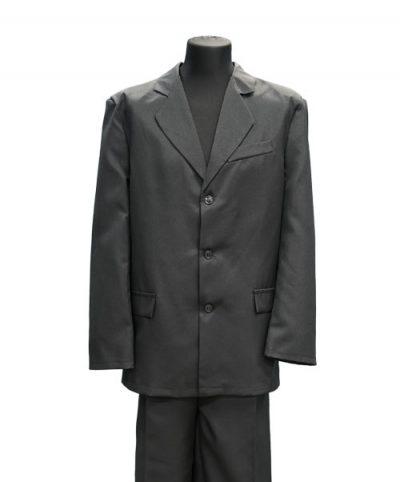 Фото 1 - Мужская одежда для похорон Серый Комплект №2.