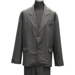 Фото 10 - Мужская одежда для похорон Серый Комплект №3.