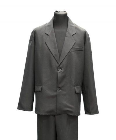 Фото 1 - Мужская одежда для похорон Серый Комплект №3.