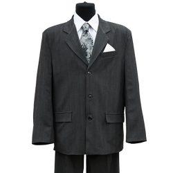 Фото 3 - Мужская одежда для похорон Серый Комплект 4.