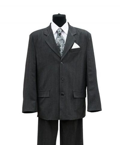 Фото 1 - Мужская одежда для похорон Серый Комплект 4.