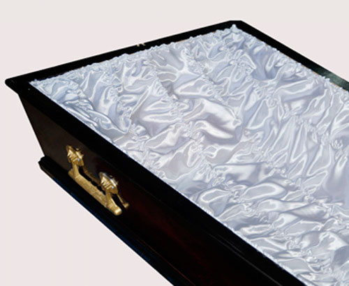 Постель-гофре для обивки гроба атслас ПС-004/1
