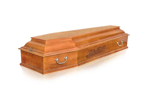 Гроб деревянный ФКЛВ-6С-Классика