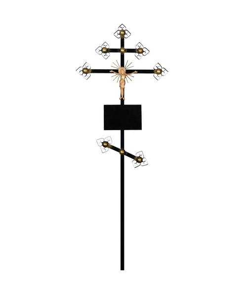 Крест металлический (золото)