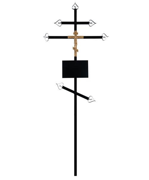 Крест металлический (православный)
