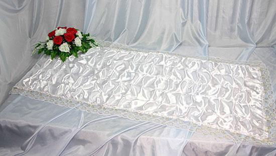 Похоронное покрывало атлас