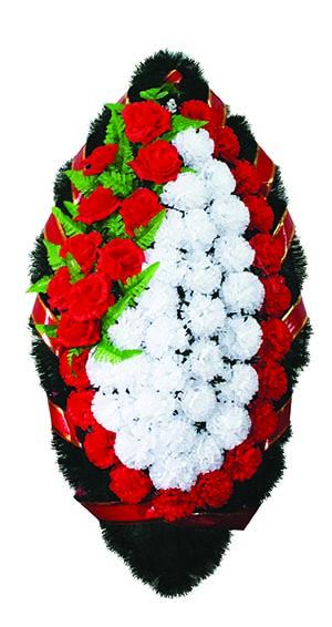 Венок из искусственных цветов №11